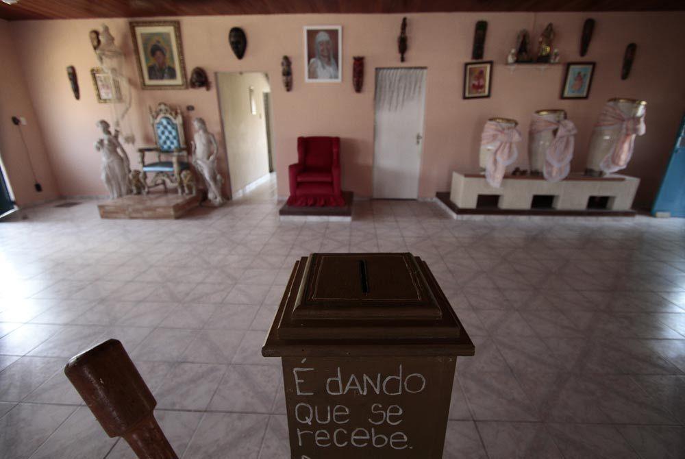 Barracão, o coração do centro, leva o nome de Eduardo Campos Foto: Guga Matos/JC Imagem