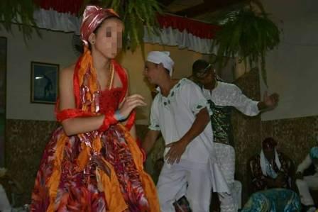 Agnes é seguidora do Candomblé Foto: Reprodução / Facebook