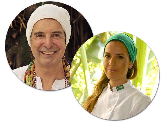 Morena Leite e Paulo D'Oyá entregam menu baseado no orixá Ibeji