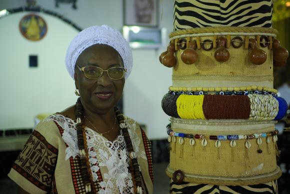 Rio de Janeiro - Aos 77 anos, Mãe Meninazinha de Oxum luta em favor da divulgação da contribuição dos terreiros para cultura brasileiraTomaz Silva/Agência Brasil
