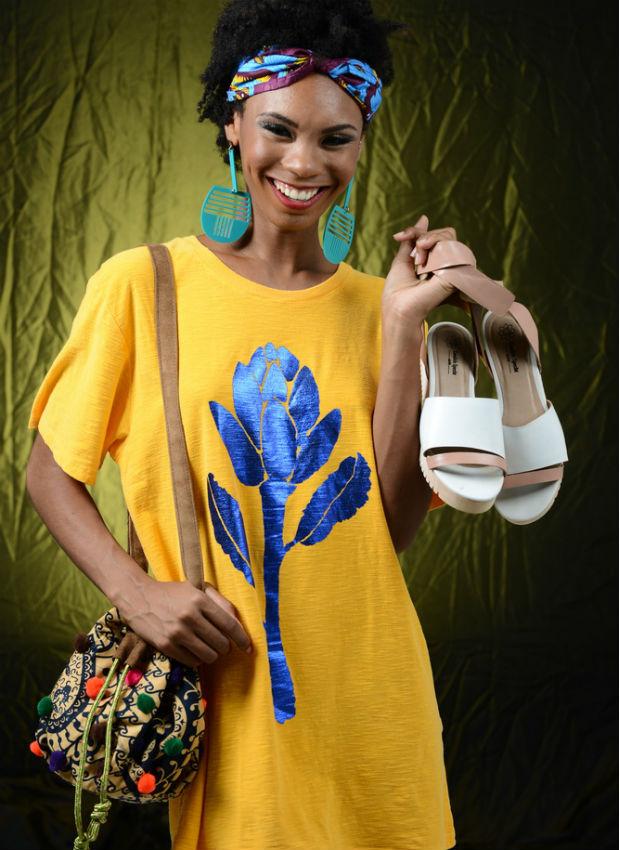 Toda Leveza é o nome da coleção que a designer Candida Specht vai apresentar no Afro Fashion Day (Foto: Alex Dantas/Divulgação)