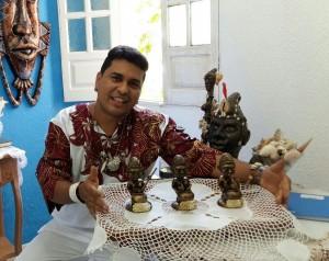 Rodrigo é autor dos troféus Ousadia, Força e Leveza