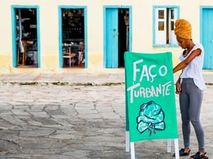 Thaís Muniz criou um movimento para o turbante. (Foto: Shai Andrade/ Divulgação Turbante.se)