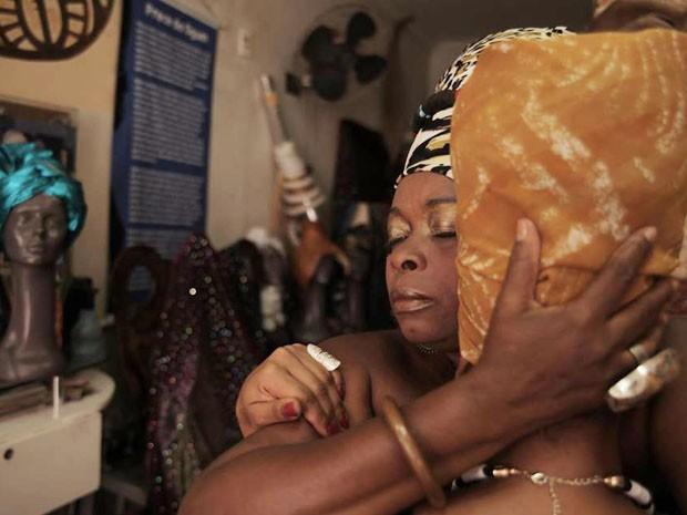 Negra Jhô e Thaís Muniz (Foto: Rodrigo Chagas/ Arquivo Documentário Trubante.se)
