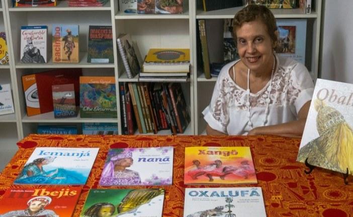 Escritora Edsoleda Santos lança 4 livros da série 'Lendas africanas'