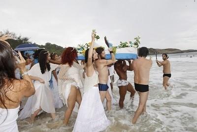 Festa para Iemanjá no Arpoador | Marcos Ramos