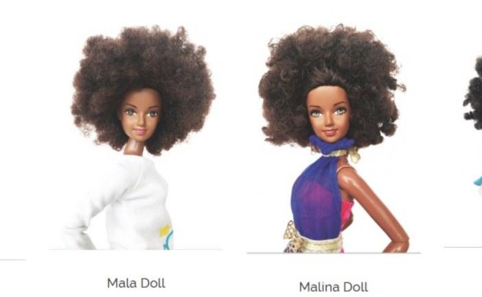 Malaville: Bonecas que celebram a beleza 'afro'