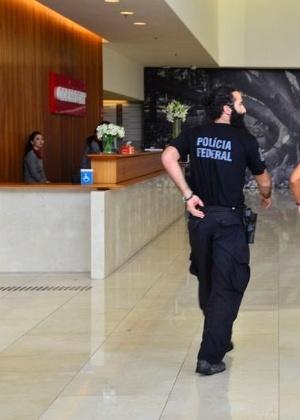 Rovena Rosa/Agência Brasil Polícia Federal cumpriu mandados de buscas na sede da Odebrecht, em São Paulo