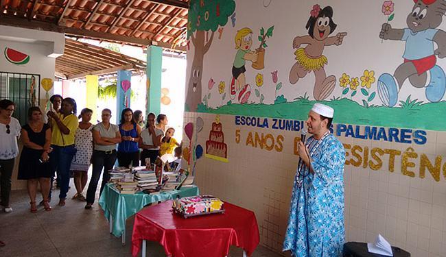 Divulgação Tata de inquice Ricardo Tavares agradeceu as doações