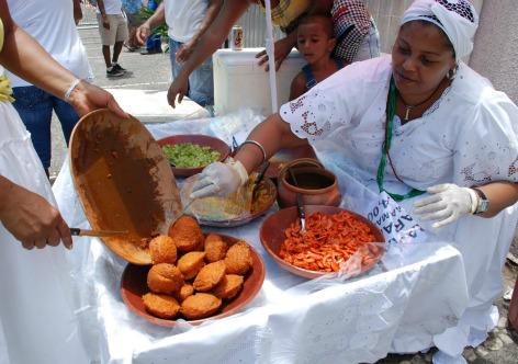 Reprodução Acarajé éalimento sagrado para o candomblé
