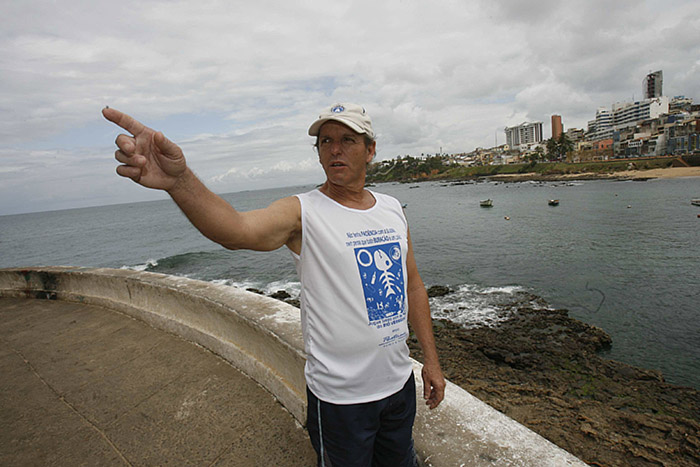 Presidente da Colônia Z-1 convidou outra ialorixá (Foto:Marco Aurélio Martins l Ag. A TARDE l 26.09.2009)