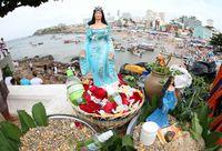 Festa de Iemanjá: Lavagem do Rio Vermelho, em SalvadorAmanda Oliveira/ GOVBA