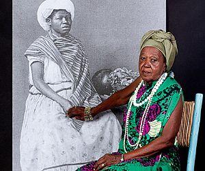 divulgação  Projeto Atavos buscou iluminar as memórias e a cultura negra