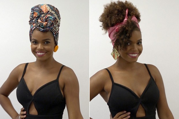 """Jennifer Nascimento gosta de usar o cabelo natural: """"Acho que o black power é a minha identidade. Geralmente não tenho como fazer muitos penteados. Ou fica natural ou com trança rastafári"""""""