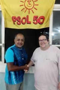 Marcelo Dias (Yango) e Tarcisio Motta - Presidente do PSOL