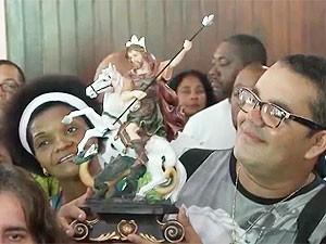 Dia de São Jorge (Foto: Reprodução/TV Bahia)