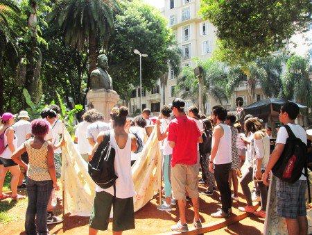 Foto: Leandro Noronha da Fonseca/Pólis Em 2015 o Instituto Pólis realizou caminhada com a mesma temática