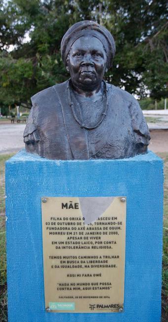 Margarida Neide l Ag. A TARDE Monumento foi danificado por vândalos no último dia 4