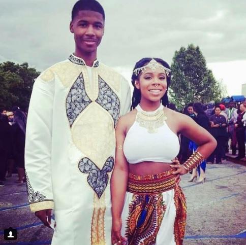 Estes dois estudantes norte-americanos não só foram juntos ao baile de finalistas como também combinaram as respetivas indumentárias