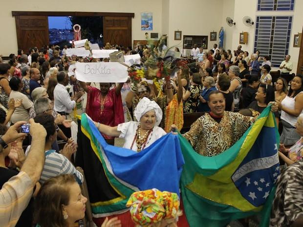 Paróquia Nossa Senhora Aparecida realiza missa Afro (Foto: Rosiley Lourenço/Diocese de Piracicaba)