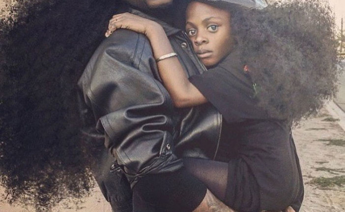 Pai e filha exaltam cultura afro e fazem sucesso no Instagram