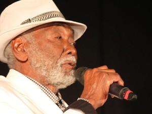 Geraldo Gamboa cantor de Campos (Foto: Patrícia Bueno / Arquivo Pessoal)