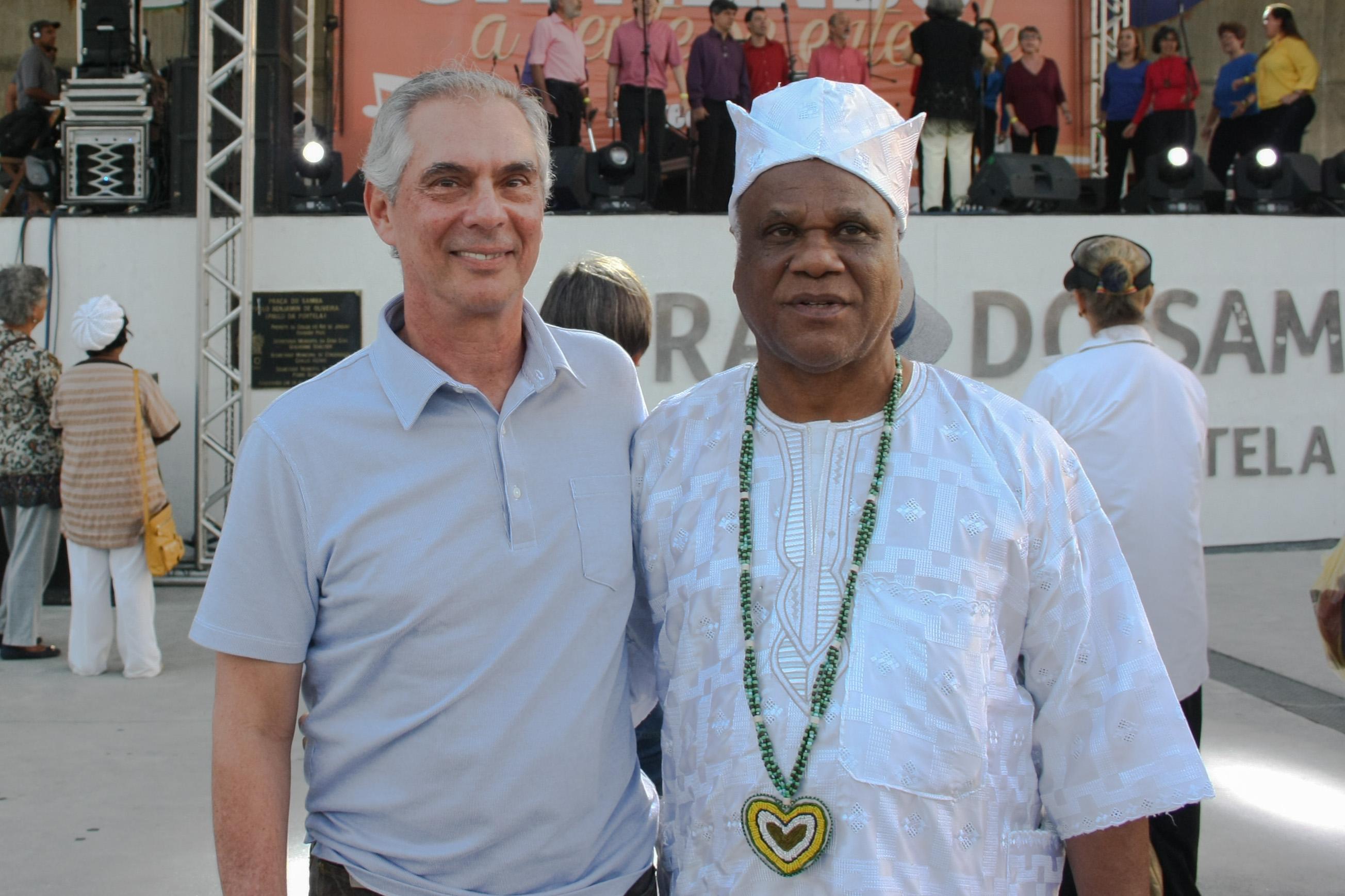 -Paulo Maltz, da Federação Israelita do Estado do Rio de Janeiro.e Ivanir dos Santos.