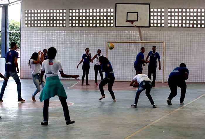 Colegio Doutor Milton  Santos realia educação Quilombola, em Jequié Foto; Elói Corrêa/GOVBA