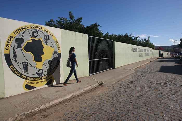 Colégio Doutor Milton Santos realiza educação Quilombola, em Jequié. Foto: Elói Corrêa/GOVBA