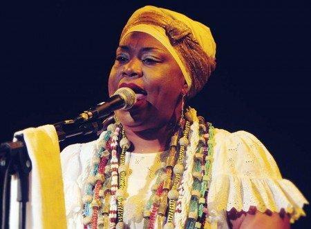 Divulgação Nega Duda marca presença mais uma vez na Mostra da Mulher Afro