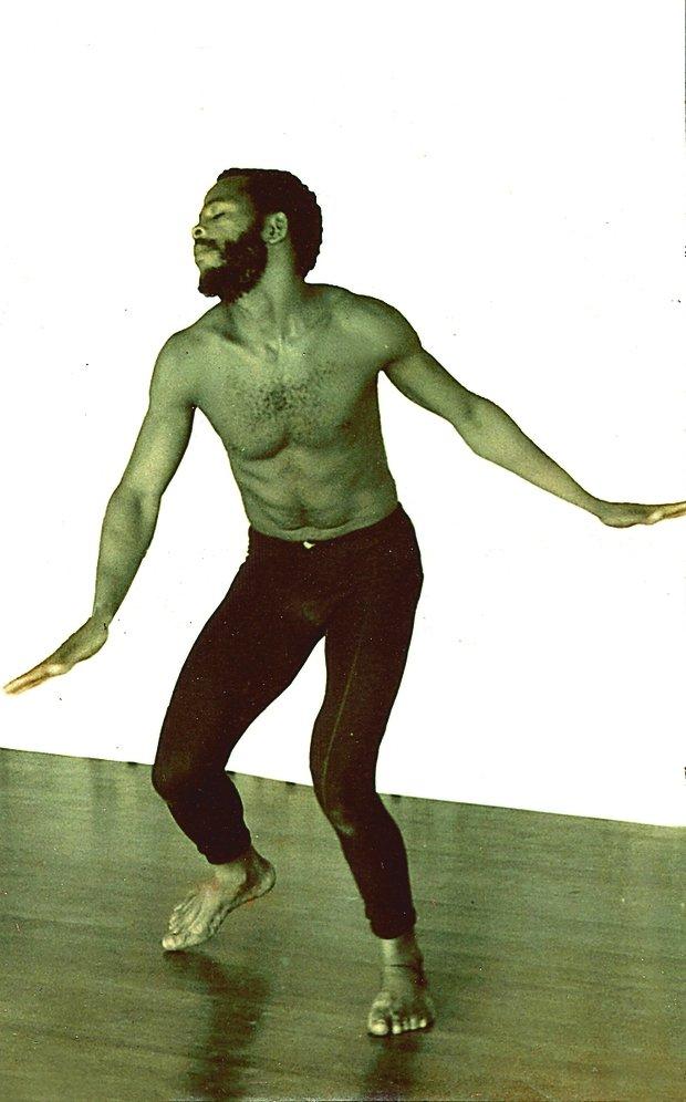 Mestre King na juventude, em plena atuação(Foto: Divulgação)