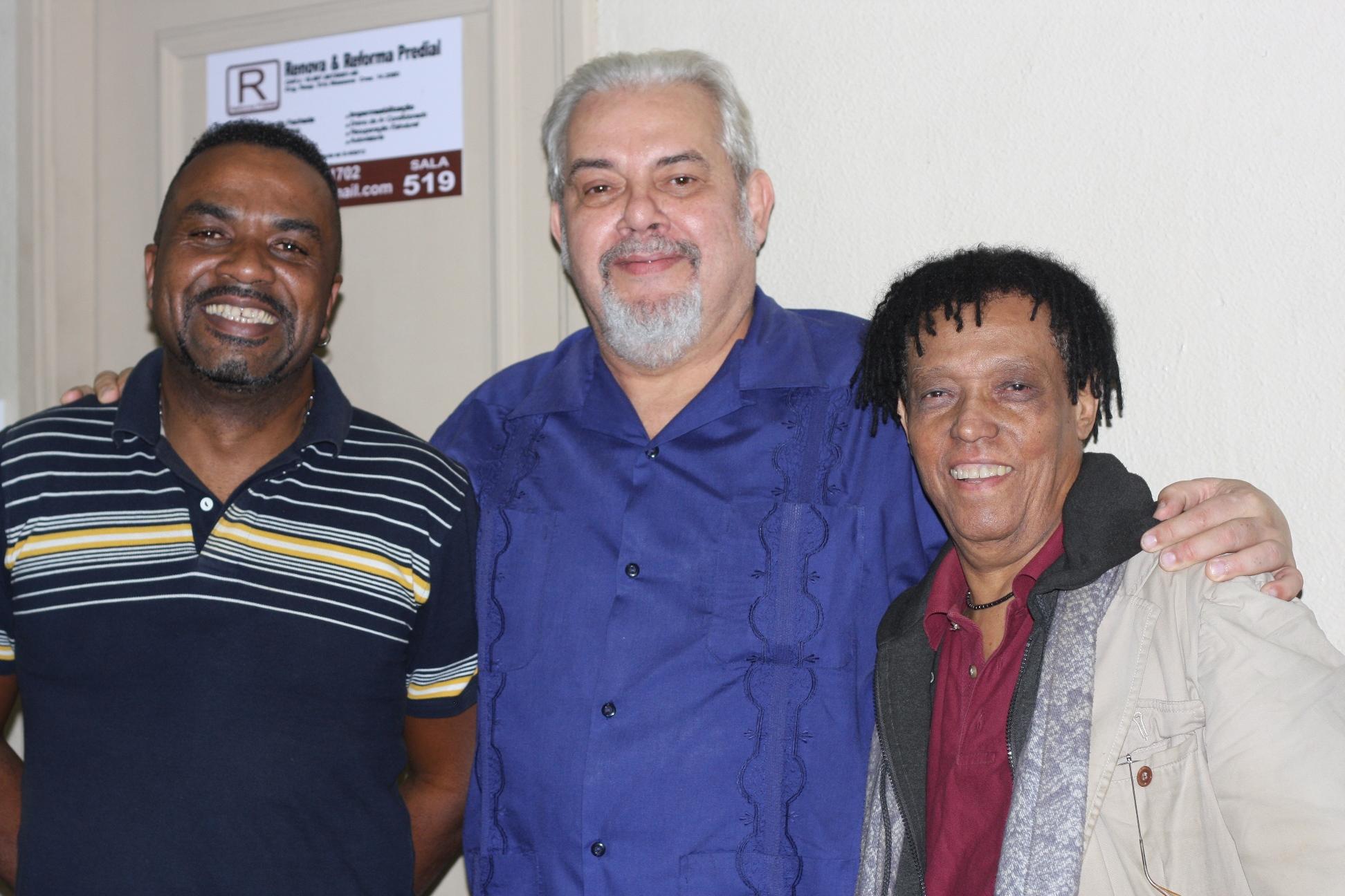 encontos culturais - Dudu Fagundes com Washington Machado e Téo Lima