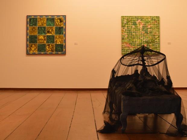Obras de 33 artistas compõem exposição sobre 40 anos de linguagem contemporânea (Foto: Jones Araújo/Divulgação)