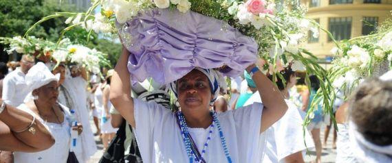 Rio de Janeiro - Acontece hoje (2) a tradicional homenagem à Yemanjá, no centro da capital fluminense