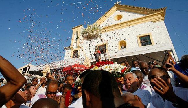 Adilton Venegeroles l Ag. A TARDE Procissão pelas ruas da Federação marcou celebrações ao protetor dos enfermos