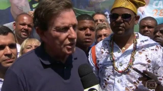 Pai de santo apoia Crivella e desagrada entidades afro-brasileiras