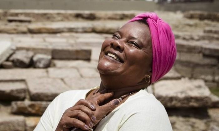 """Mãe Celina de Xangô: """"Amo este lugar. Eu, como muitos, vim daqui"""" - Agência O Globo / fernando lemos"""
