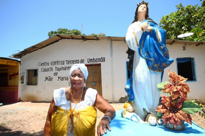 Maria Silva do Nascimento conta sofrer perseguição desde os sete anos. Foto: Karina Morais/Esp. DP