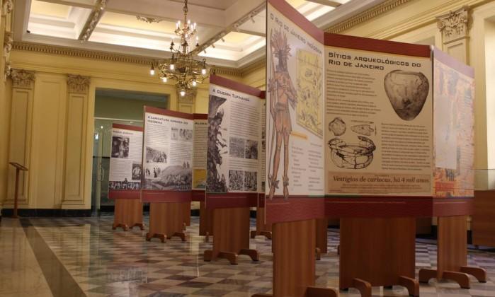Exposição 'O Rio continua Índio' passou pelo Museu da Justiça - Divulgação / Divulgação