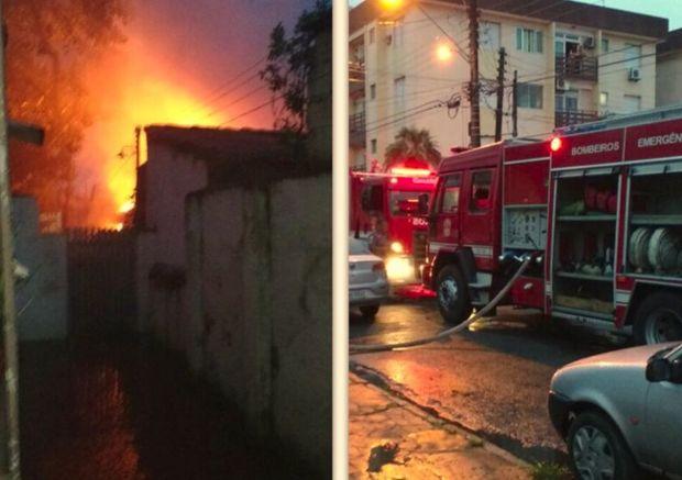 Vítimas perderam tudo no incêndio desta madrugada
