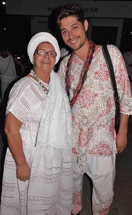Jussara de Yemonja e Gilmar de Oya Foto: Divulgação