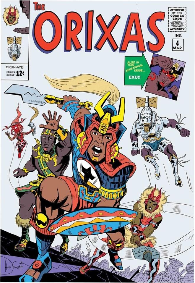 Capa inspirada em clássico da Marvel Hugo Canuto