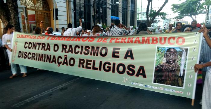 Ato abre as atividades do Mês da Consciência Negra. Foto: Adaíra Sene/DP