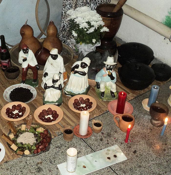 Os Pretos Velhos são algumas das entidades da Umbanda. Crédito: Arquivo Tenda Espiritual Pai Benedito.