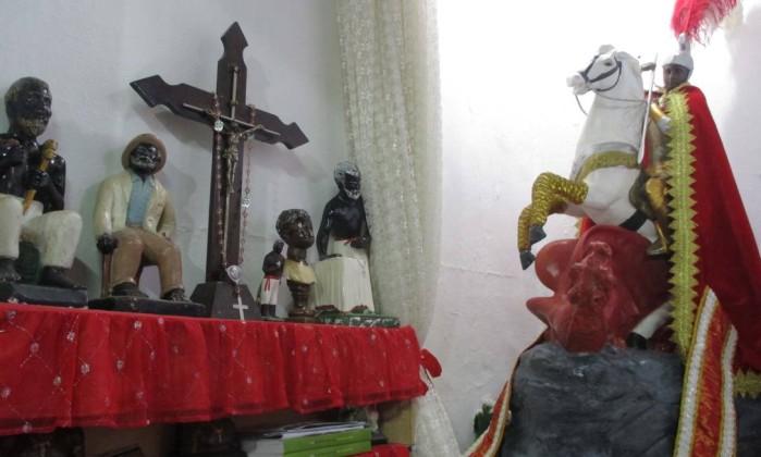 a Tenda Espírita Vovó Maria Conga de Aruanda foi primeira instituição cadastrada pela prefeitura. - Divulgação/IRPH