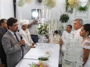 Cerimônia foi realizada na Casa de Mãe Miriam  FOTO: RICARDO LÊDO - GAZETA DE ALAGO