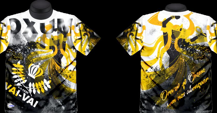 Camisetas de enredo da Vai-Vai. Foto: Divulgação