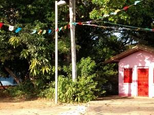 Terreiro do Bate Folha fica no bairro da Mata Escura em Salvador (Foto: Vanessa Avelar/AECC UFBA)