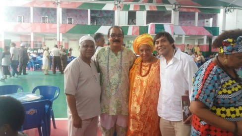 Ivanir dos Santos, Aristides Mascarenhas, Sonia Alvim e Paulo de Oxalá