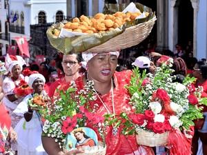 Católicos e candomblecistas participam das celebrações(Foto: Max Haack/Ag. Haack)